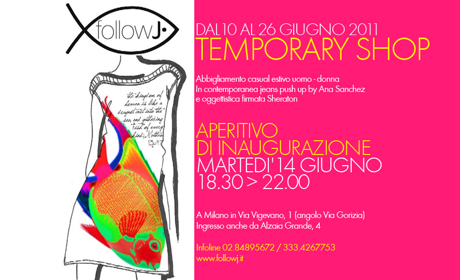FOLLOW INVITO new2 FollowJ. temporary shop a Milano