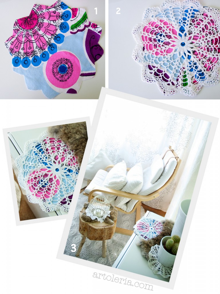 easy doily restyle DIY